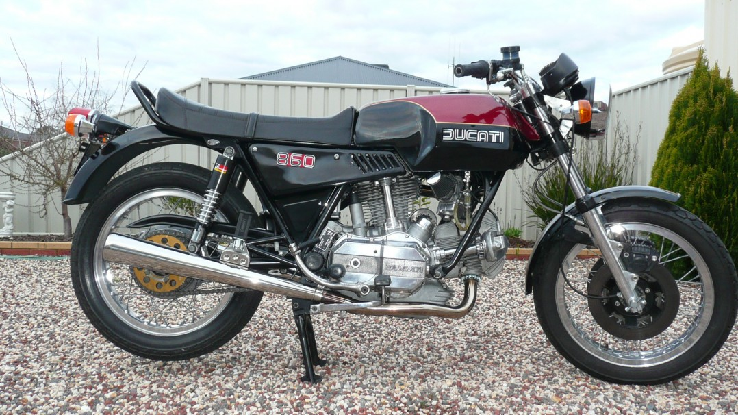 1975 Ducati 860 GTE