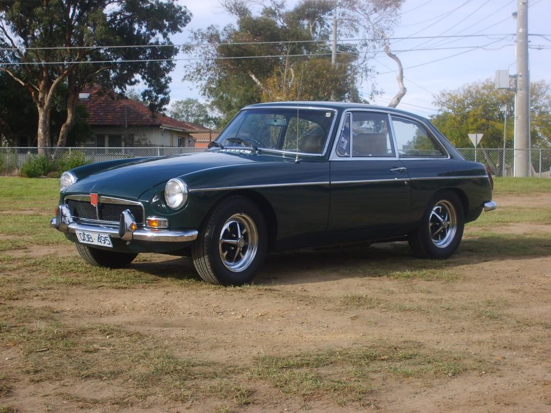 1973 MG B GT