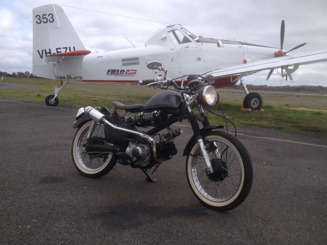 2003 Honda 105cc CT110