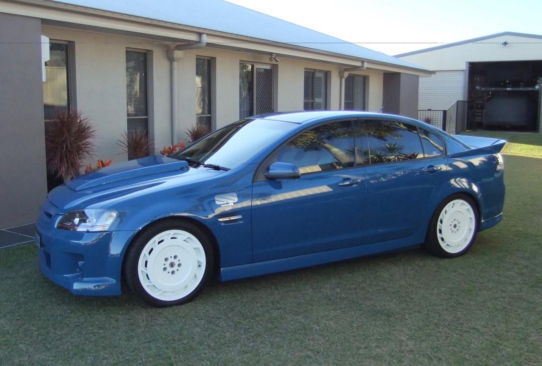 2008 Holden Dealer Team VE/VK Retro Group A Commodore