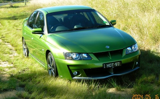 2002 Holden Special Vehicles VY Clubsport R8