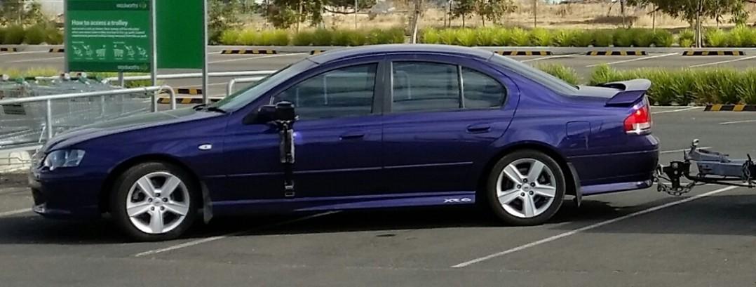 2004 Ford BA XR6