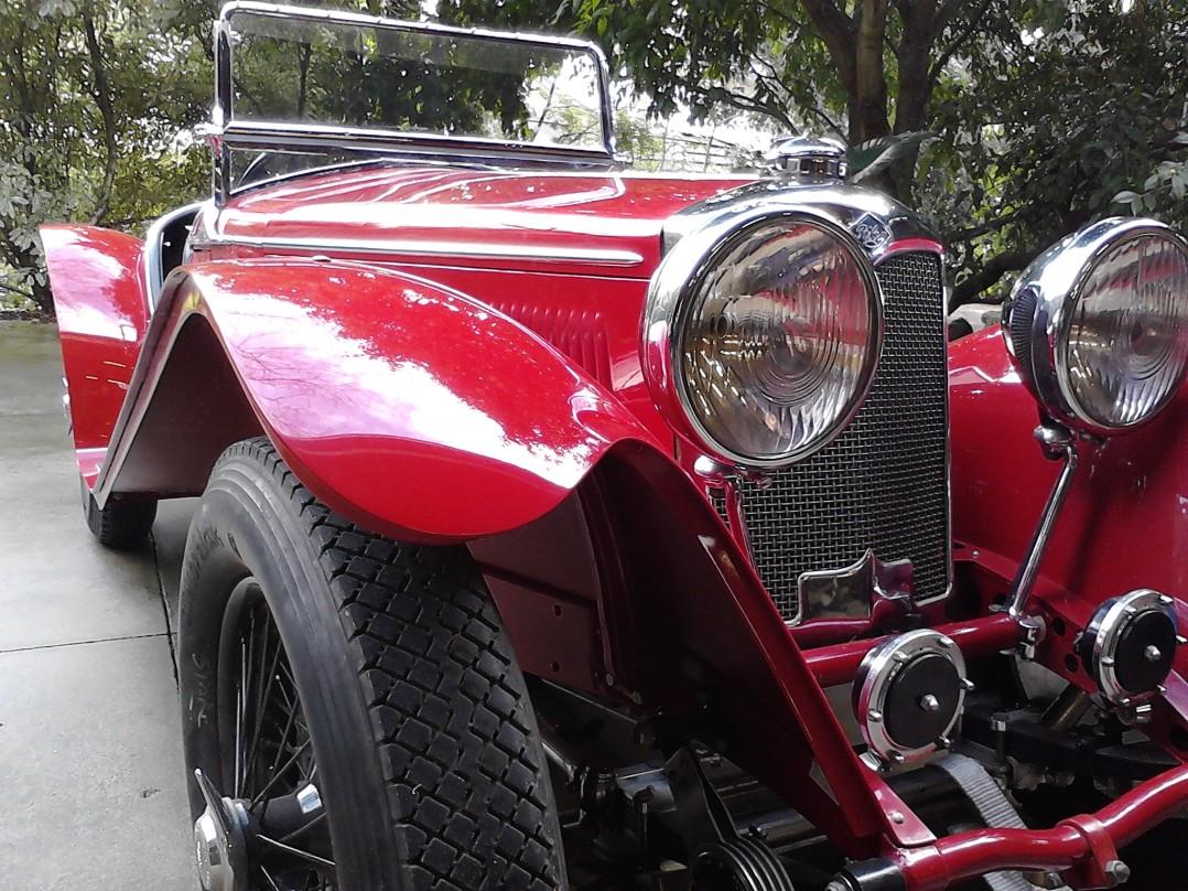 1937 Riley MPH Sprite