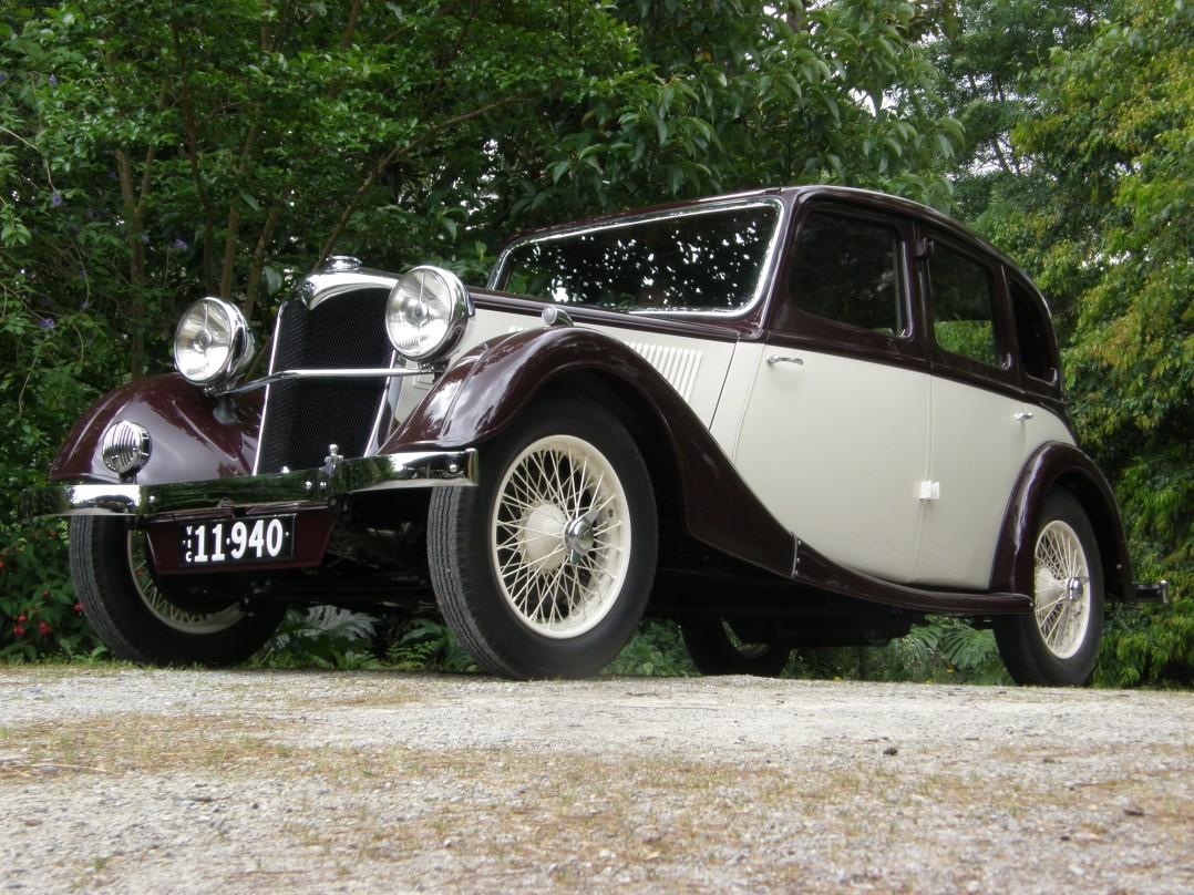 1937 Riley Adelphi