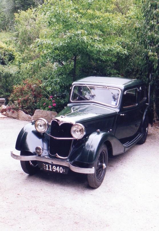 1937 Riley Falcon