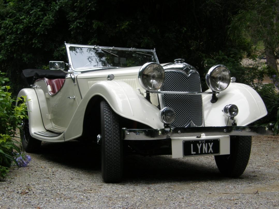 1936 Riley Lynx Sprite