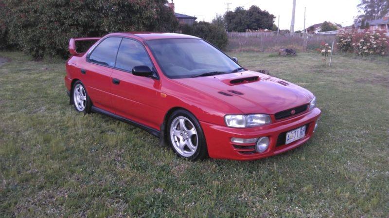 1998 Subaru IMPREZA WRX