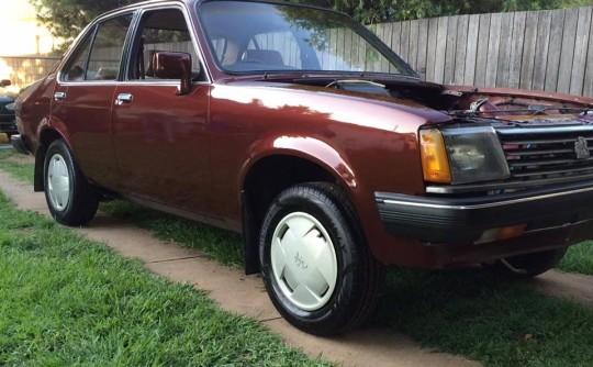 1984 Holden GEMINI SL/X