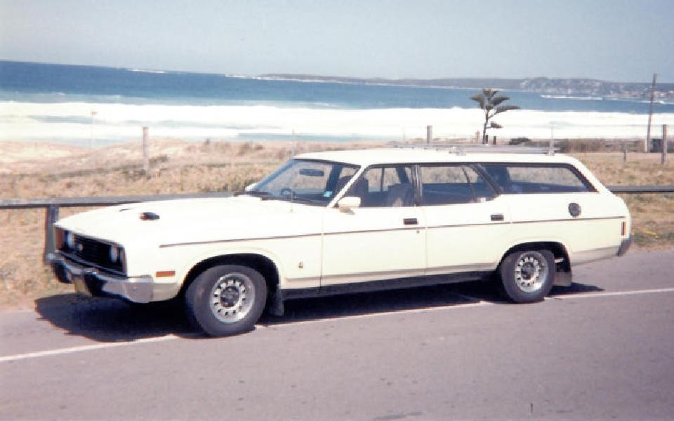 1977 Ford XC FALCON Rally Pack