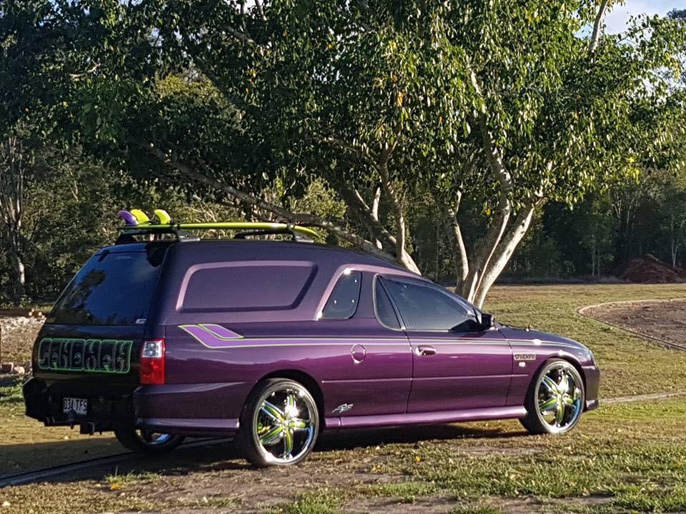 2003 Holden VY series 2 SS Millenium sandman Van