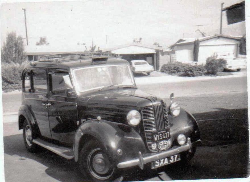 1956 Austin FX3 Taxicab