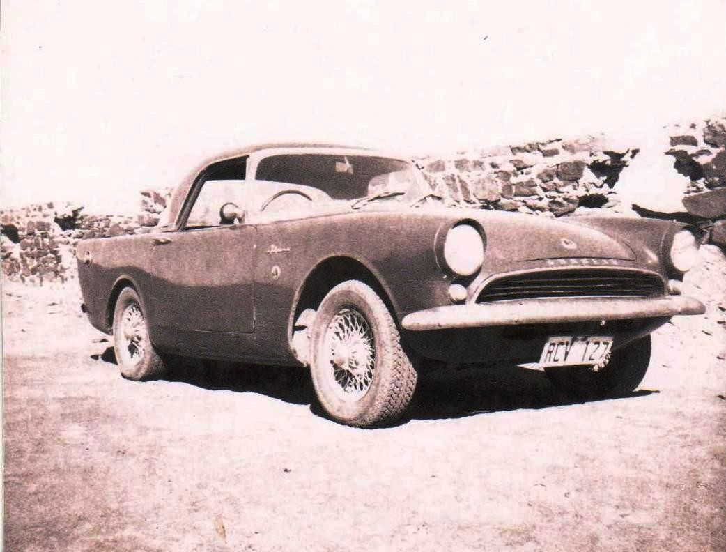 1962 Sunbeam Alpine