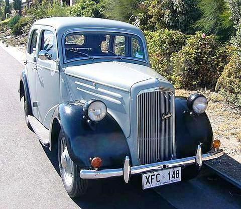 1948 Ford Anglia.
