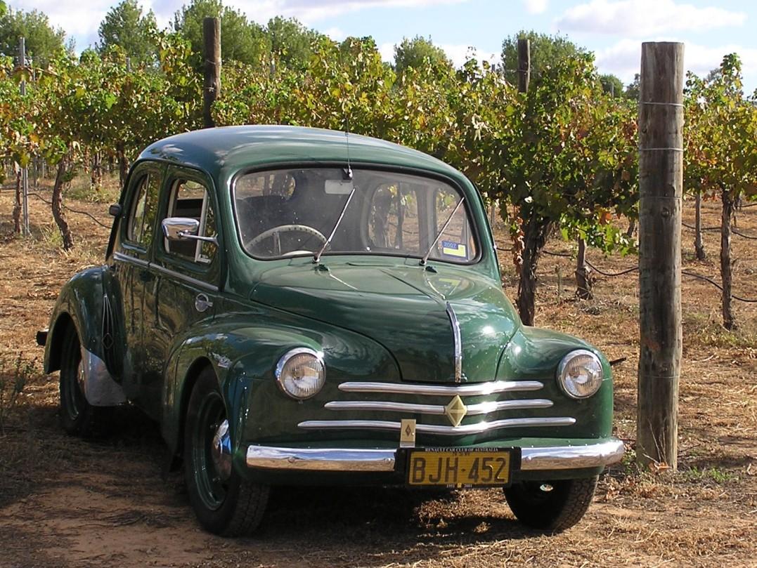 1956 Renault 4Cv / 750
