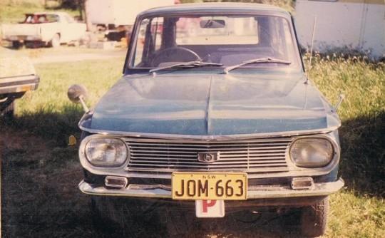 1968 Mazda 1000 Familia  2nd- gen