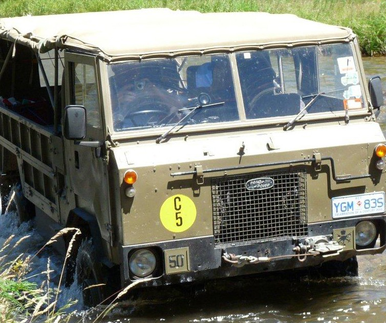 1977 Land Rover FC 101
