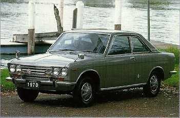 1970 Datsun Bluebird 510 (1600)