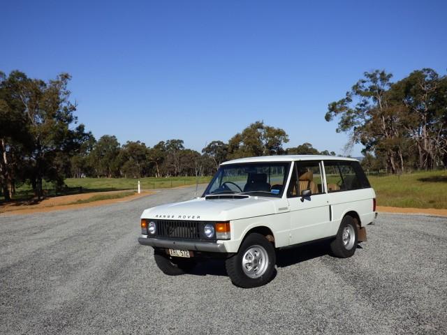 1977 Range Rover 2 Door Classic