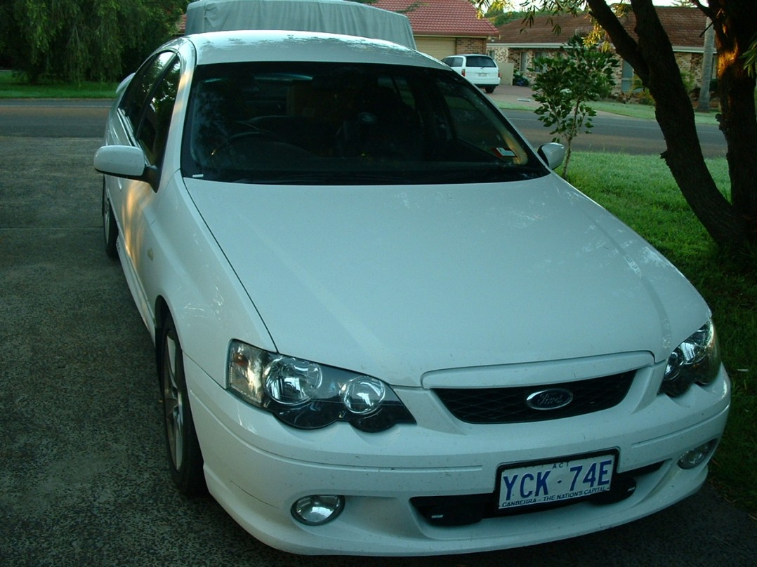 2003 Ford BA XR6 Turbo