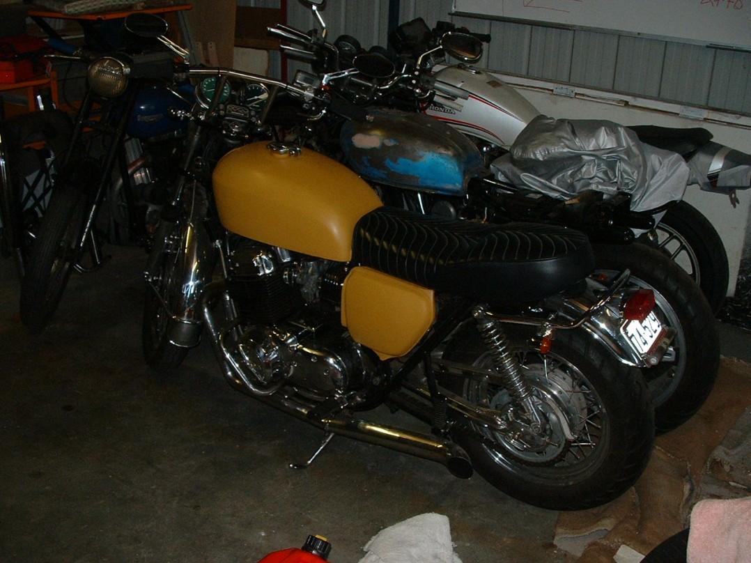 1972 Honda CB 750 four