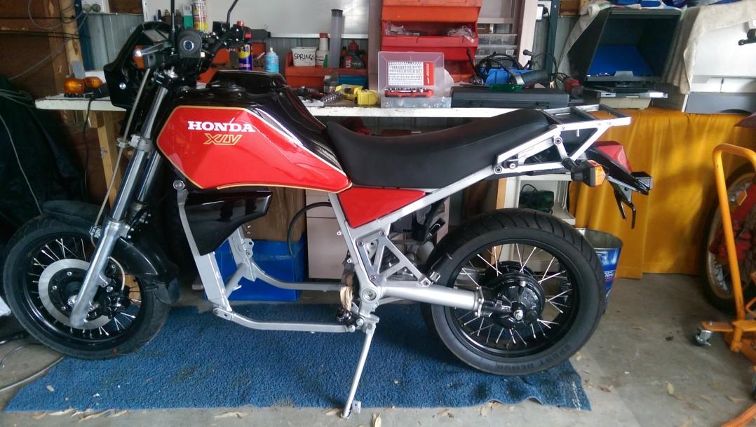 1985 Honda XLV 750 RF