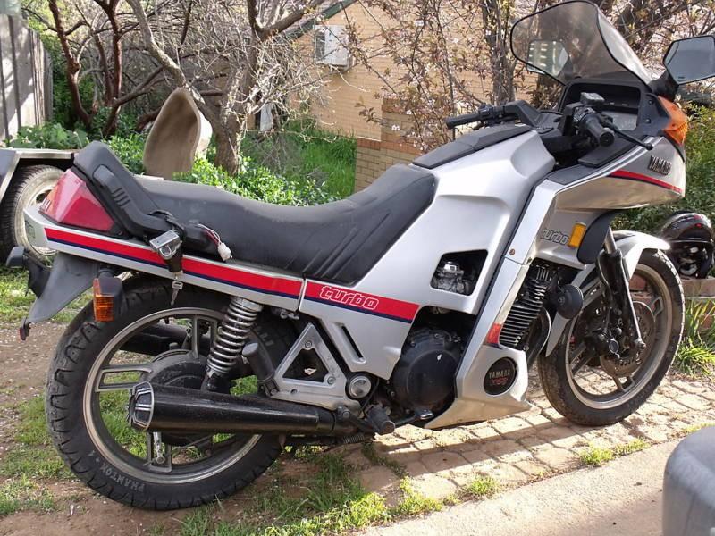 1984 Yamaha XJ650 Seca Turbo