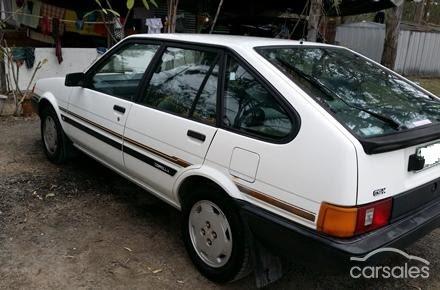 1985 Toyota Corolla Seca CXS