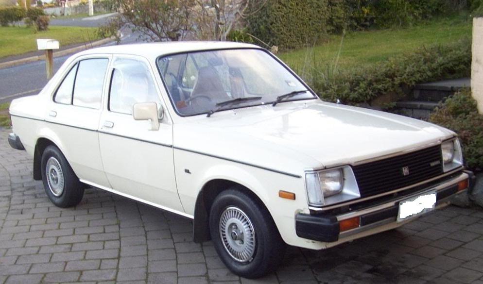 1981 Holden GEMINI SL