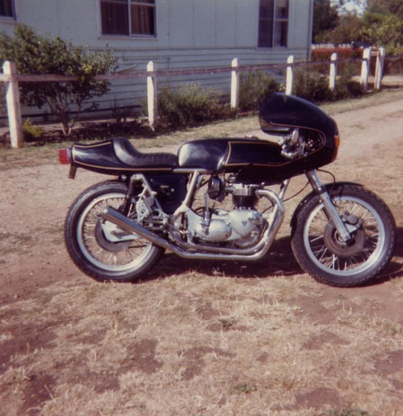 1974 Rickman Cafe Racer