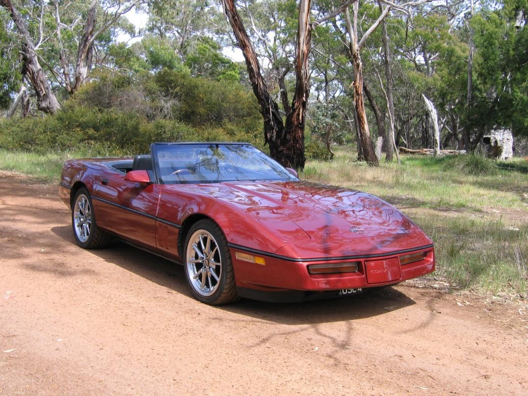 1987 Chevrolet C4 CORVETTE