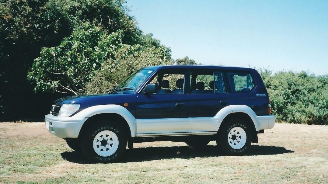 1997 Toyota LANDCRUISER PRADO
