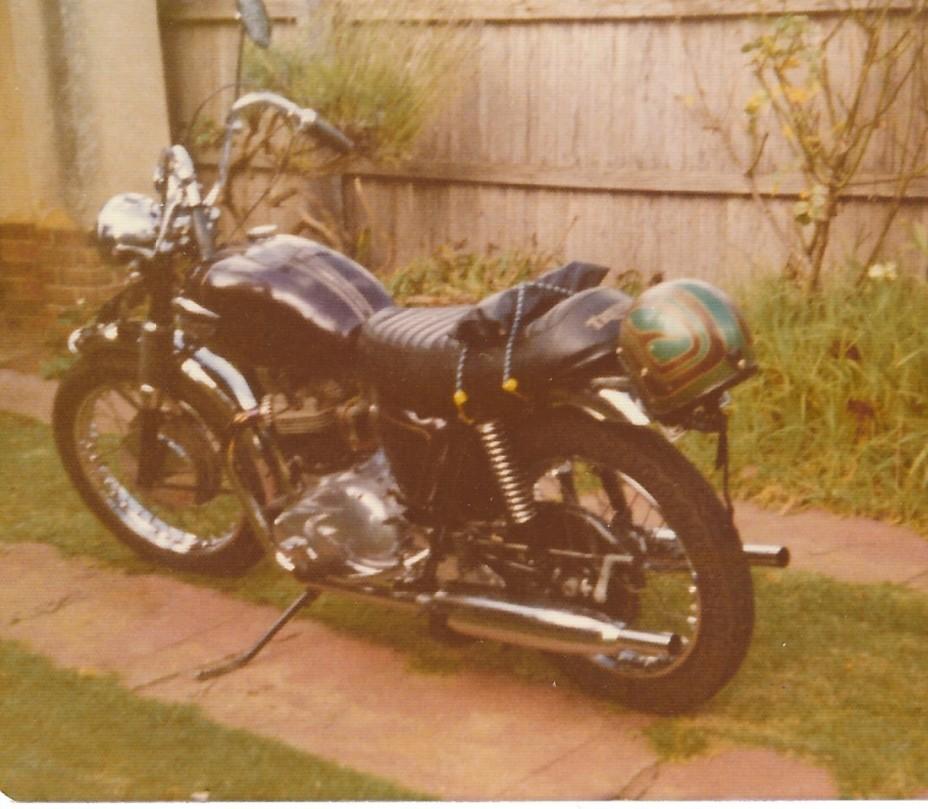 1968 Triumph 650 Saint (Trophy) TR6P
