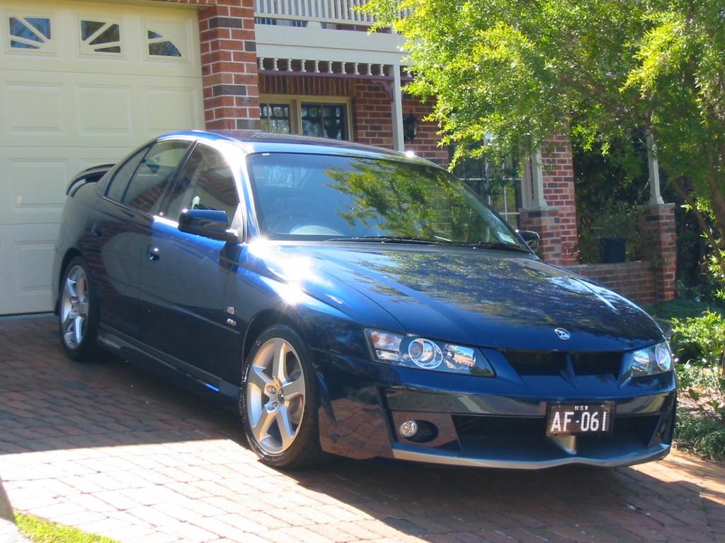 2002 Holden Clubsport R8