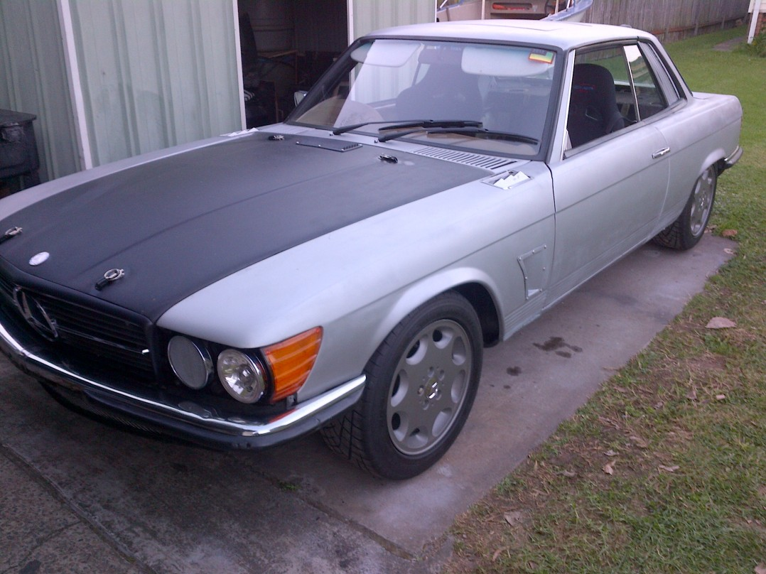 1973 Mercedes-Benz 350 SLC 2+2