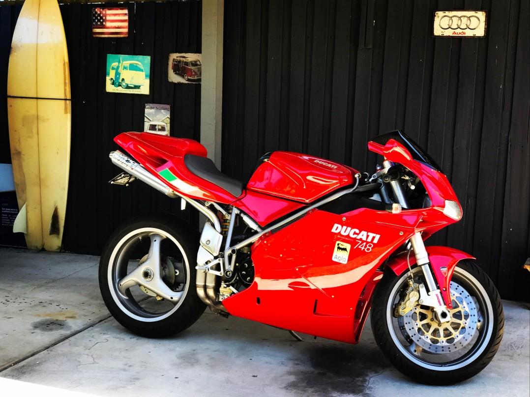 2002 Ducati 748cc 748 (STRADA)