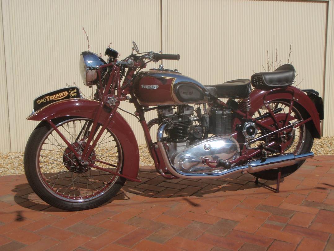 1940 Triumph Speed Twin