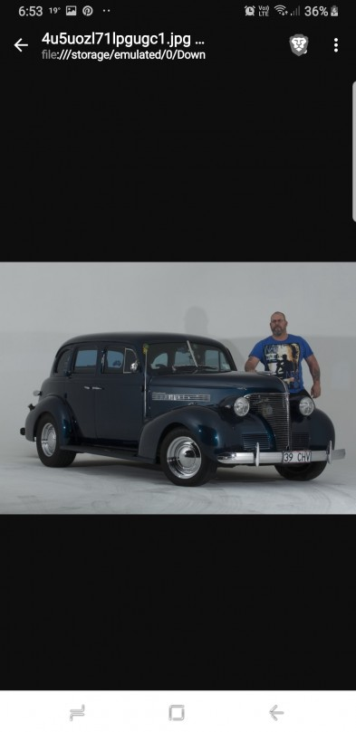 1939 Chevrolet JA Master deluxe 4 door