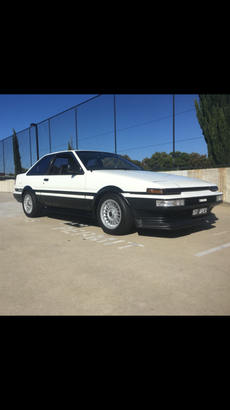1986 Toyota Sprinter trueno