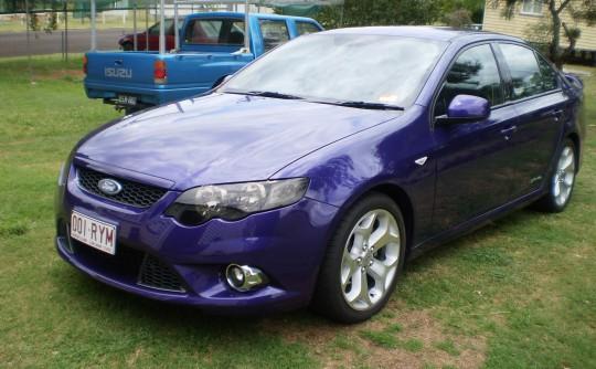 2011 Ford FG FALCON XR6 LIMITED EDITION