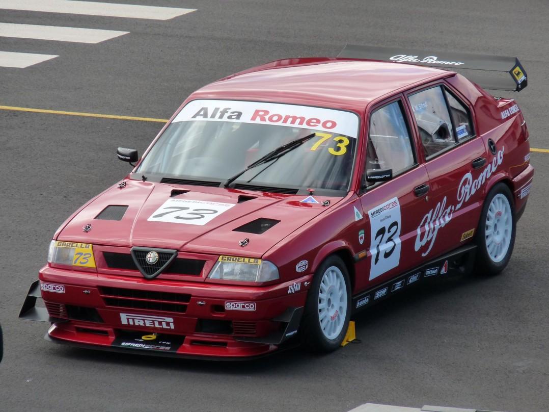 "1991 Alfa Romeo 33 Boxer 16V ""Superturismo"" circuit race car"