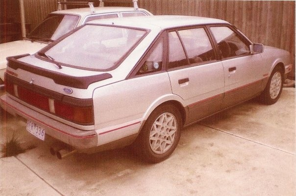 1986 Ford Telstar TX5 turbo