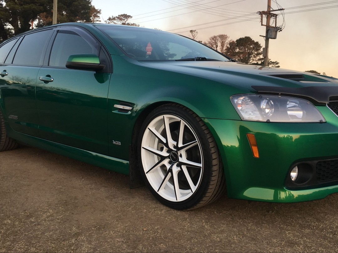 2010 Holden Commodore ssv special edition