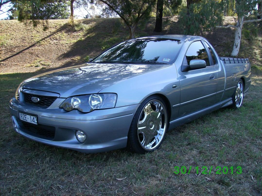2001 Ford BA XR6