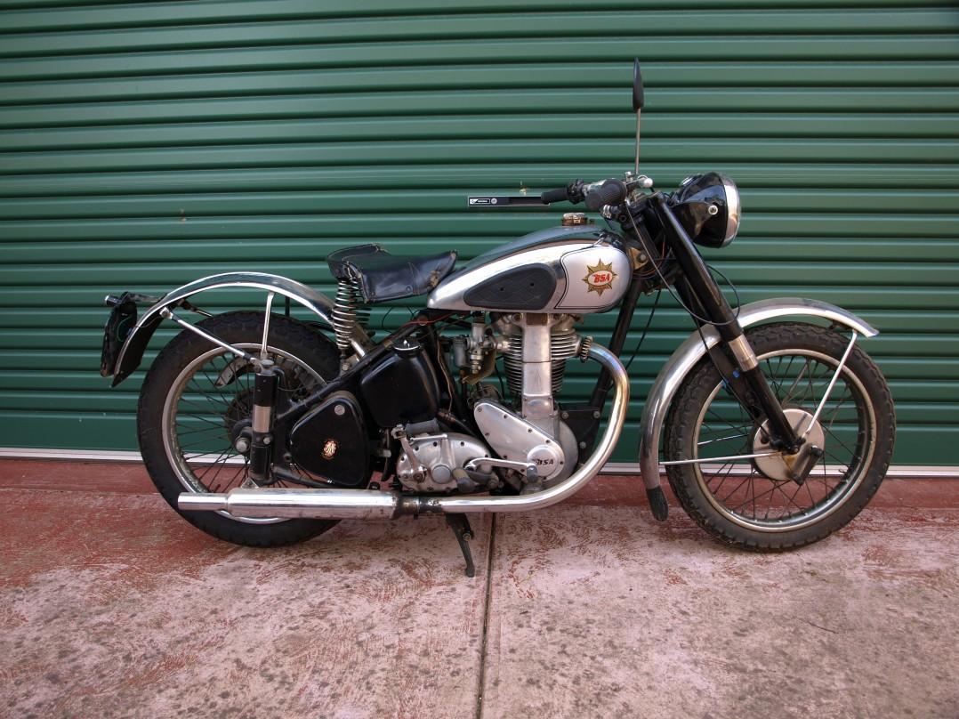 1950 BSA Goldstar ZB32
