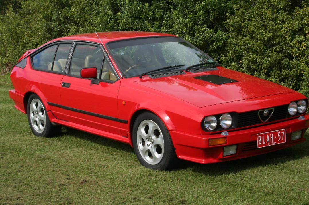 1986 Alfa Romeo GTV 6 GRAND PRIX