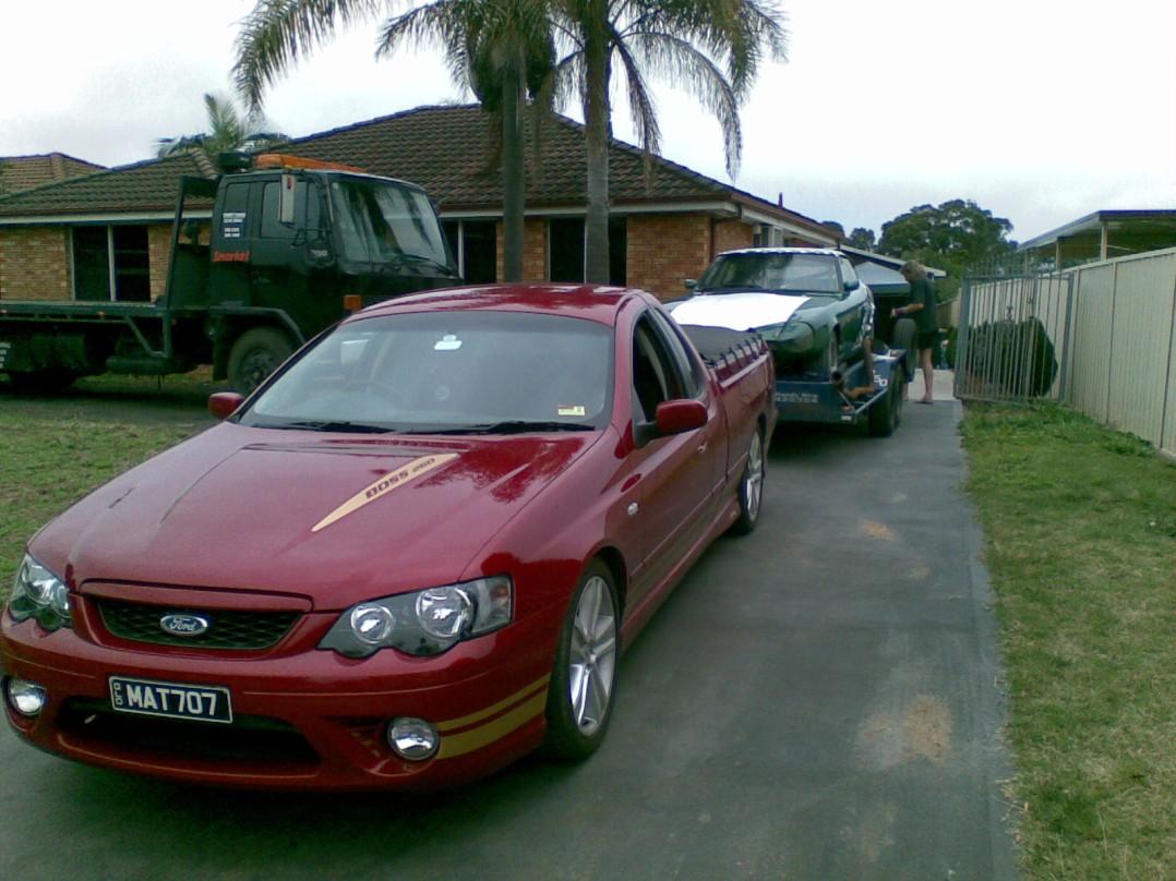 2007 Ford FALCON XR8