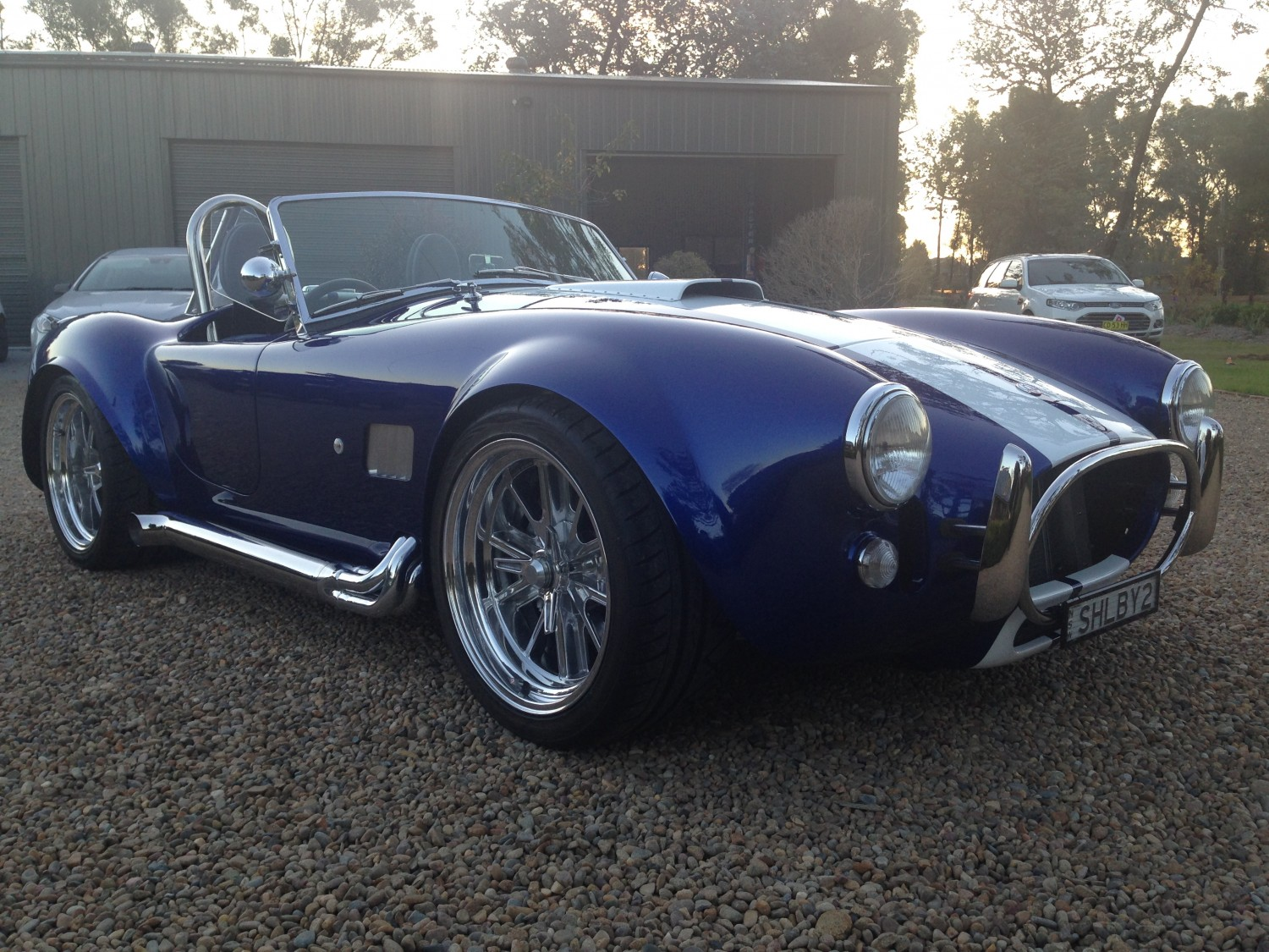 All finished ready to enjoy some Cobra driving again,Huddo