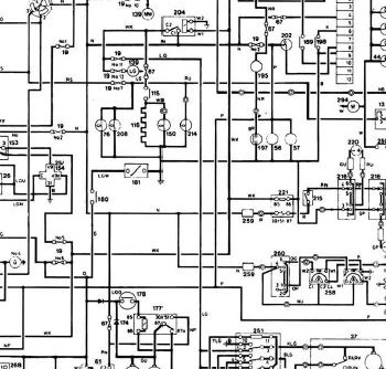 WIRING SCHEMATICS COLOUR CODED FOR JAGUAR