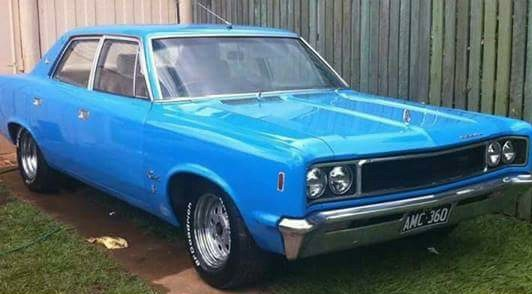 1968 American Motors Rambler Rebel