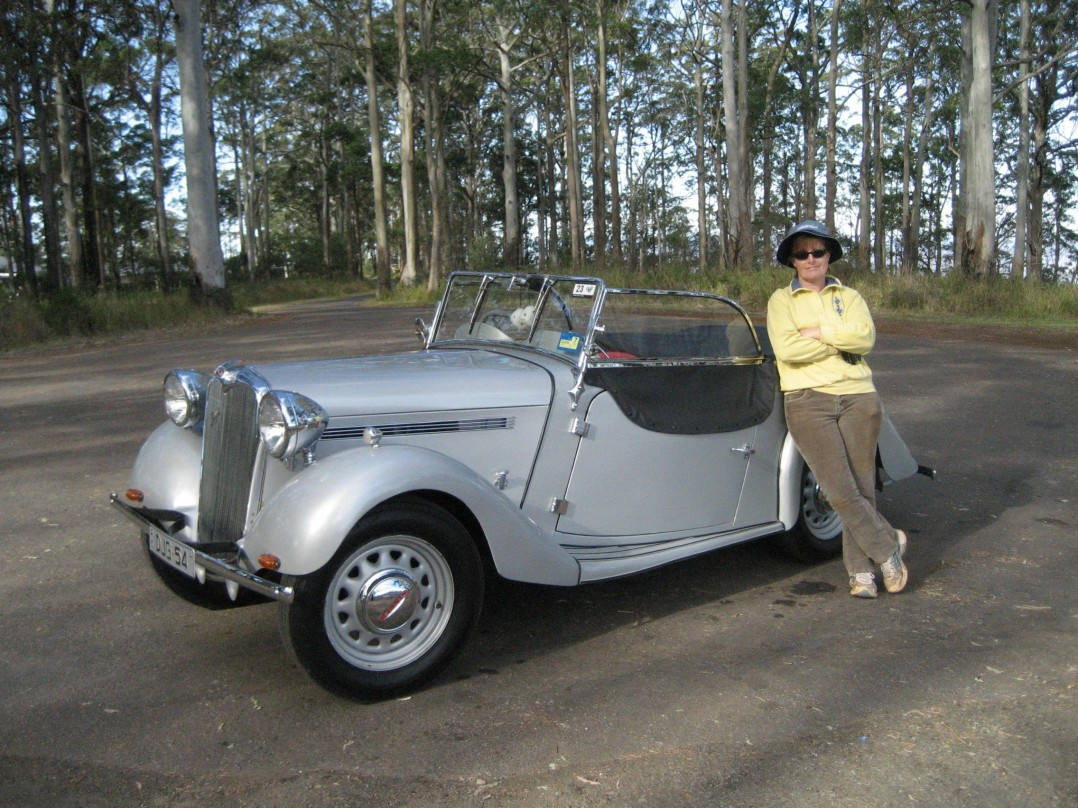1939 Singer 9HP Roadster